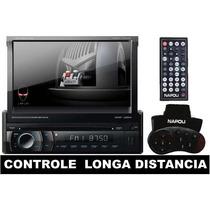 Dvd Automotivo Retratil Napoli 7998 Bluetooth -tv-sd-usb