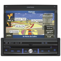 Dvd Automotivo Pósitron Sp6900 Nav Tela Retrátil 7