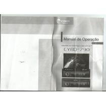 Manual Dvd Cyber Cybd-790