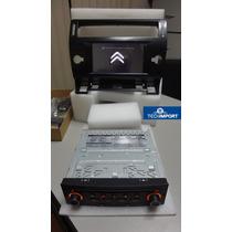 Central Multimidia Para Citroen C4 C/ Gps Bluetooth Sd Etc