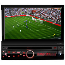 Dvd Retratil 7 H-buster 9820dtv Tv Digital Usb Touch Screen