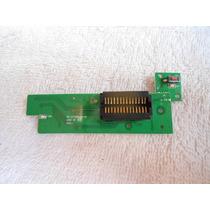Conector Da Frente Do Dvd Cyber Cybd-316 Com A Plaquinha