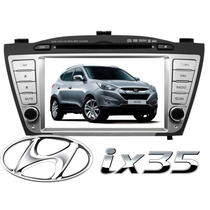 Central Multimidia H Buster Tela 7 Gps Original Hyundai Ix35