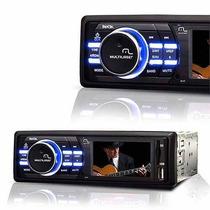 Mp3 Player Automotivo Usb Lcd Rock 180w Multilaser P3180