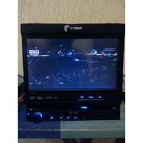 Dvd Cyber 7 Polegadas Lindo Intacto Usb, Sd, Av Controle