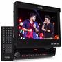 Toca Cd Dvd Retratil Tela 7 Ucb 170 Radio Am Fm Usb Rca Mp3