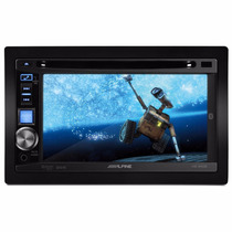 Central Multimídia Alpine Ive-w530 2din Dvd + Gps Apontador
