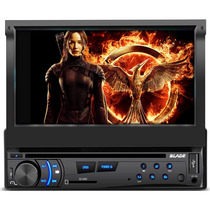 Dvd Player Automotivo Multilaser P3295 Blade - Tela 7 Pol