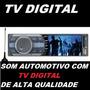 Som Automotivo C/ Tv Digital Tela Lcd 3 Polegadas + Frete Gt
