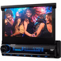 Dvd Retrátil 7 Aquarius Dpa 3001 Usb Touch Screen Mp3 Nf