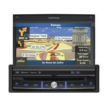 Dvd Player Positron Sp6900 Retratil Tv Digital Bluetooth Gps