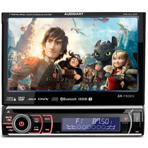 Dvd Player Audioart 7 Polegadas Mp3 Mp4 Cd Usb Rca + Frete