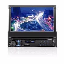 Dvd Player Automotivo Multilaser Blade P3295 Retratil Com Nf