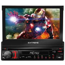 Dvd Player Multilaser Extreme 7 Automotivo Retratil Gps Usb