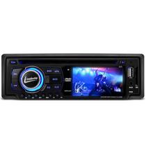 Dvd Player P/ Carro Automotivo Radio Usb Mp3 Sd Aux Som Rca