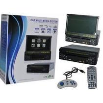 Dvd Retrátil 7 Stereo Auto Car System Multimedia Dvd / Dvix
