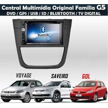 Central Multimídia Vw Gol Voyage Saveiro G5 Tv Dvd Gps