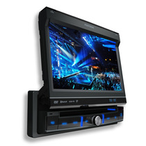 Dvd P/ Carro Retratil Tela 7 C/ Tv Digital+touch+gps