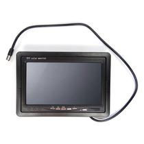 Tela Monitor 7 Polegadas P/câmera Ré ,dvd,cftv Dvr, Encosto