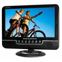 Tela Lcd Monitor Mini Tv Portatil 9 Polegadas Dvd Automotivo