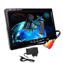 Tela Monitor Portatil Lcd+ Fonte De 12v - Apontamento Antena