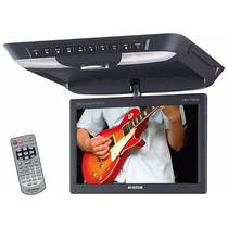 Dvd Player De Teto H-buster Hbd-7900av - Tela 10 Polegadas