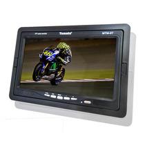 Tela Tv Monitor Portatil Tomate Mtm-07 Lcd De 7 Polegada
