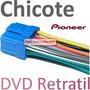 Chicote Dvd Pioneer Retratil Avh 5000 5100 5200 5450 6350 E+