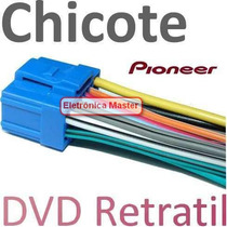 Chicote Dvd Pioneer Retratil Avh 5000 5100 5200 5450 6350 E+