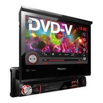 Dvd Player Pioneer Avh-3580dvd Retrátil 7 Polegadas Usb 1din