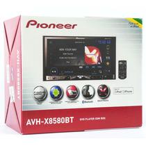 Dvd Player Pioneer Avh-x8580bt Bluetooth Frente Destacavel