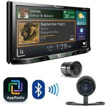Dvd Pioneer Avh-x5780tv + Camera De Re + Moldura Palio