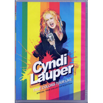 Dvd Cyndi Lauper - Thue Colors Tour Live - Novo***