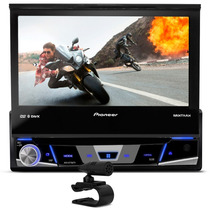 Dvd Retratil Pioneer 7780 Bluetooth Radio Cd Usb Tv Digital