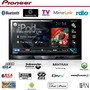 Dvd Player Pioneer Avh-x5780tv + Moldura 2din Gol Saveiro G5