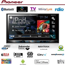 Dvd Player Pioneer Avh-x5780tv + Moldura 2din Golf Polo