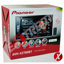 Dvd Player Pioneer Avh-x2780bt + Moldura 2din Vectra