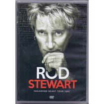 Dvd Rod Stewart - Vagabond Heart Tour 1991 - Novo***
