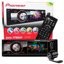 Dvd Player Pioneer Dvh 7780av Tela 3 Usb Mp3 + Câmera De Ré