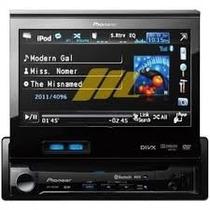 Dvd Pioneer Avh-p6350 Bluetooth 7 Tela Retratil S/caixa Novo
