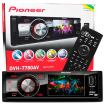 Dvd Player Pioneer Dvh 7780av Tela 3 Usb Mp3 Radio Am Fm Som