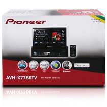 Dvd Pioneer Retratil Avh-x7780tv Tv Digital App Radio 1 Din