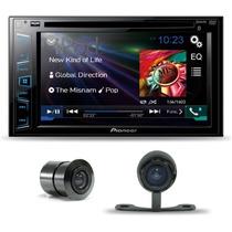Dvd Player Pioneer Avh-278bt Bluetooth Usb + Camera De Re