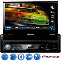 Dvd Pioneer Retratil Avh-x7780tv Tv Digital 1 Din 7 Usb
