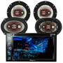 Central Multimidia Pioneer Avh-278bt + 4 Falantes Bravox Kit