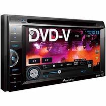 Dvd Player Automotivo Pioneer Avh-168dvd Com Tela Lcd De 6,1
