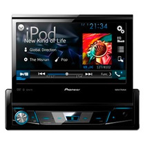 Dvd Player Pioneer Avh-x7780tv 7´´ Retrátil Mix Bluetooth Tv