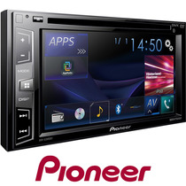 Som Dvd Tela Touch Carro Automotivo Pionner Usb Fm Aux