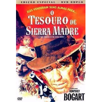 O Tesouro De Sierra Madre (lacrado) - Dvd Duplo E Raro