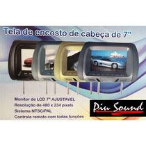 Telas C/ Encostos De Cabeça Lcd 7 Monitor Crv Ix35 I30 L200